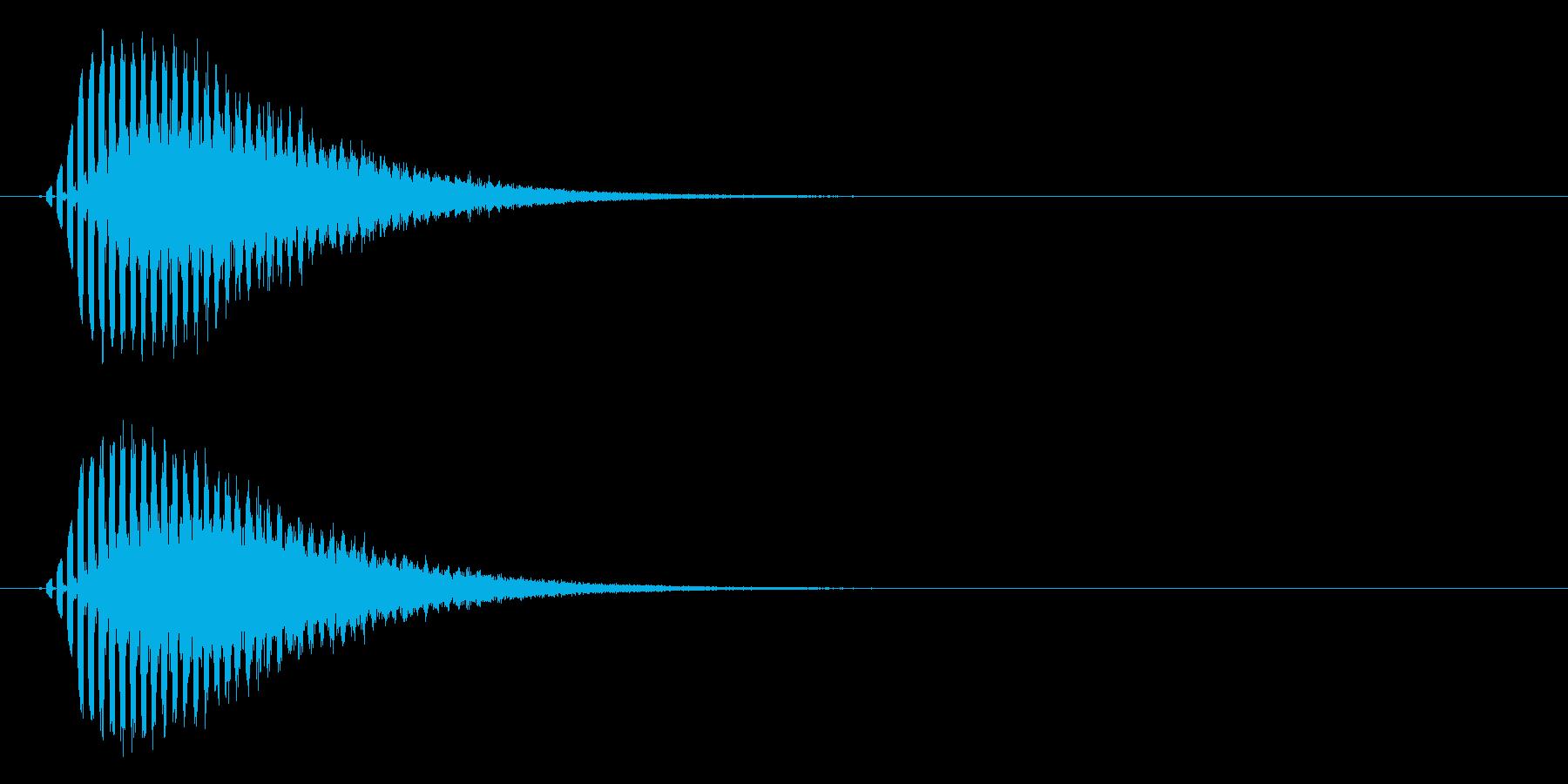 流れ星・彗星 転がるキラキラ Starの再生済みの波形