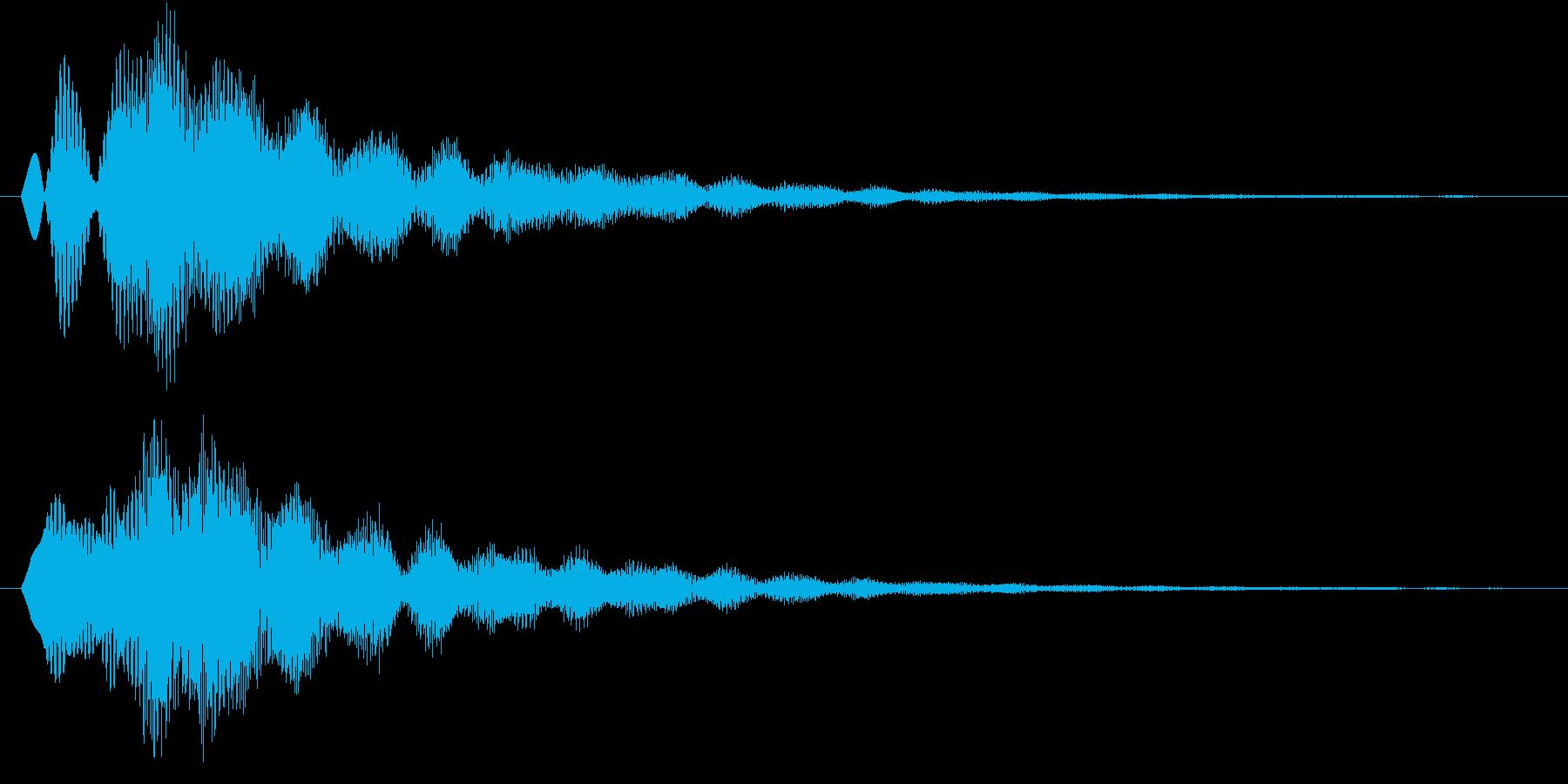 ピヨーン(キラキラ、アプリ、ゲーム)の再生済みの波形