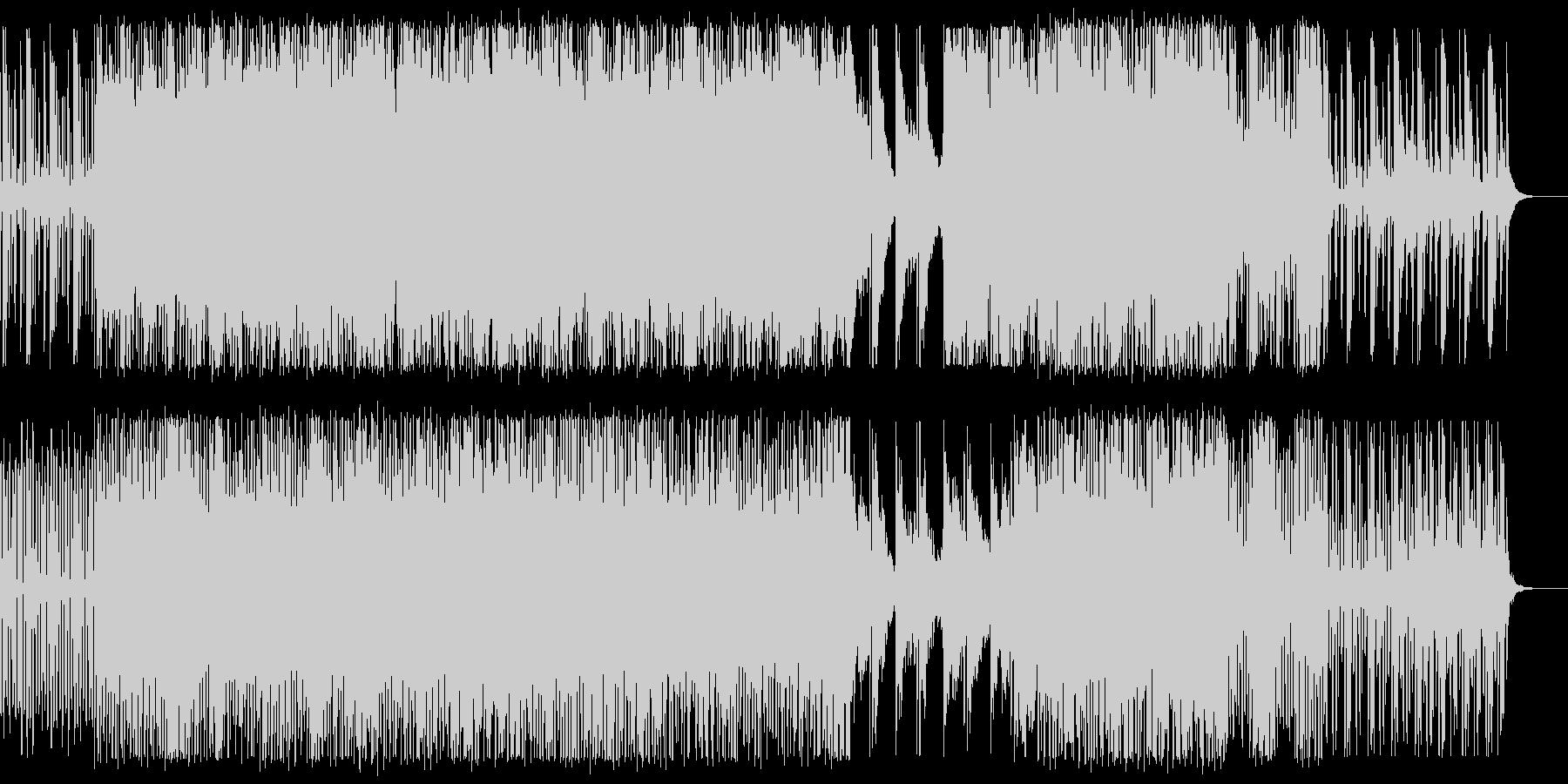 幻想的でロマンティックなXmas BGMの未再生の波形