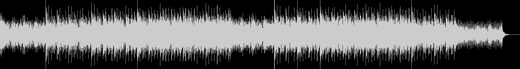 エレクトロニカBGMの未再生の波形