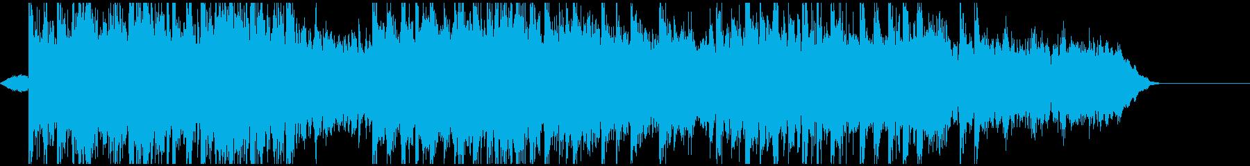 ほのぼのした和と洋のヒーリングの再生済みの波形