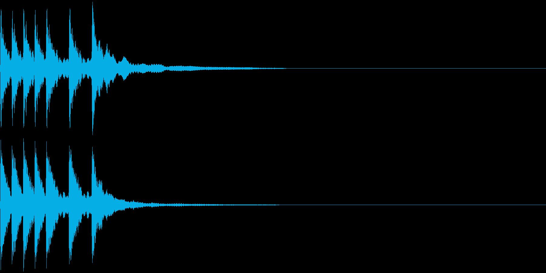 シンプルなジングルその4 中華風?の再生済みの波形