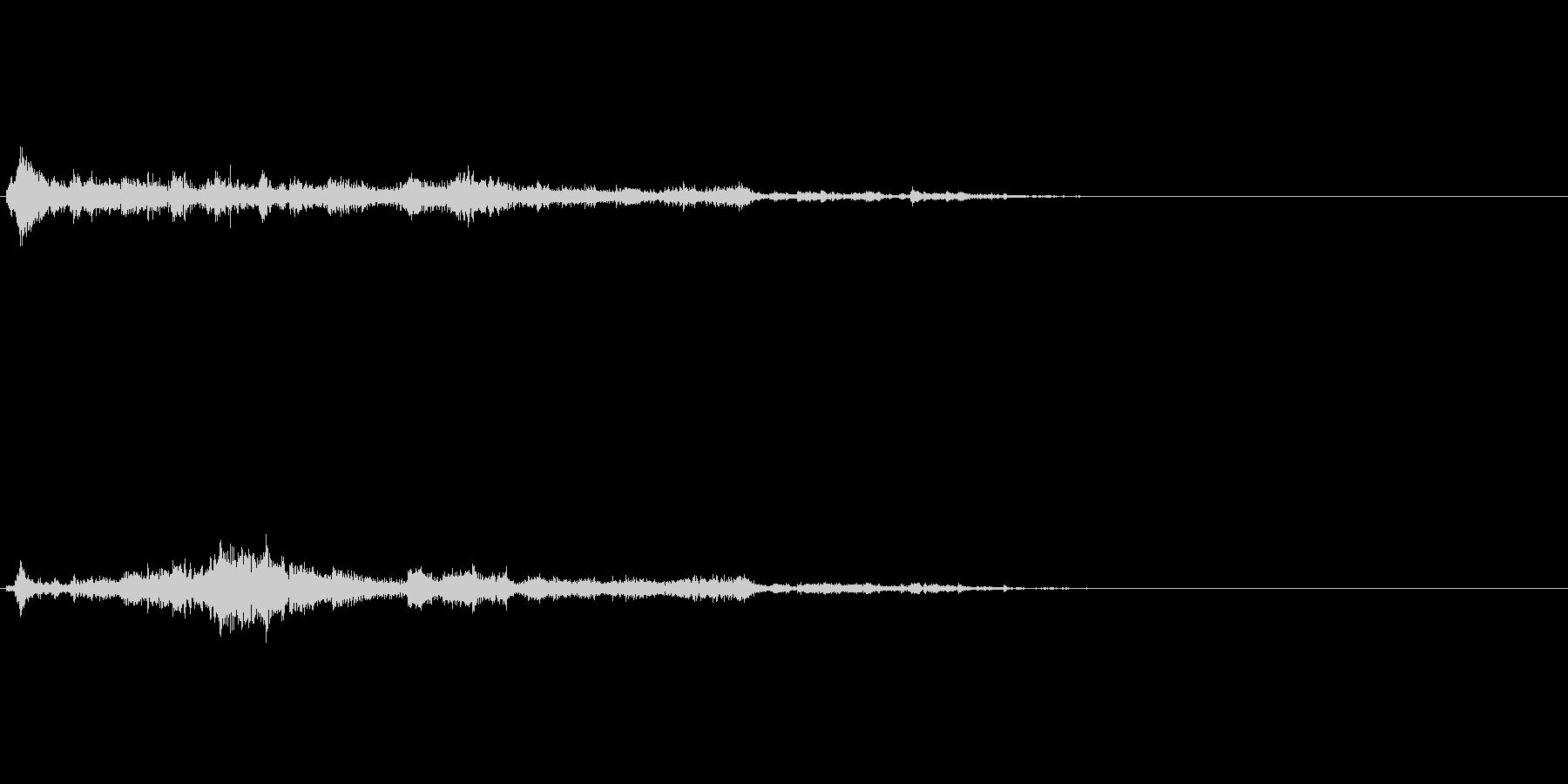 ワープや何か召還した時用効果音の未再生の波形