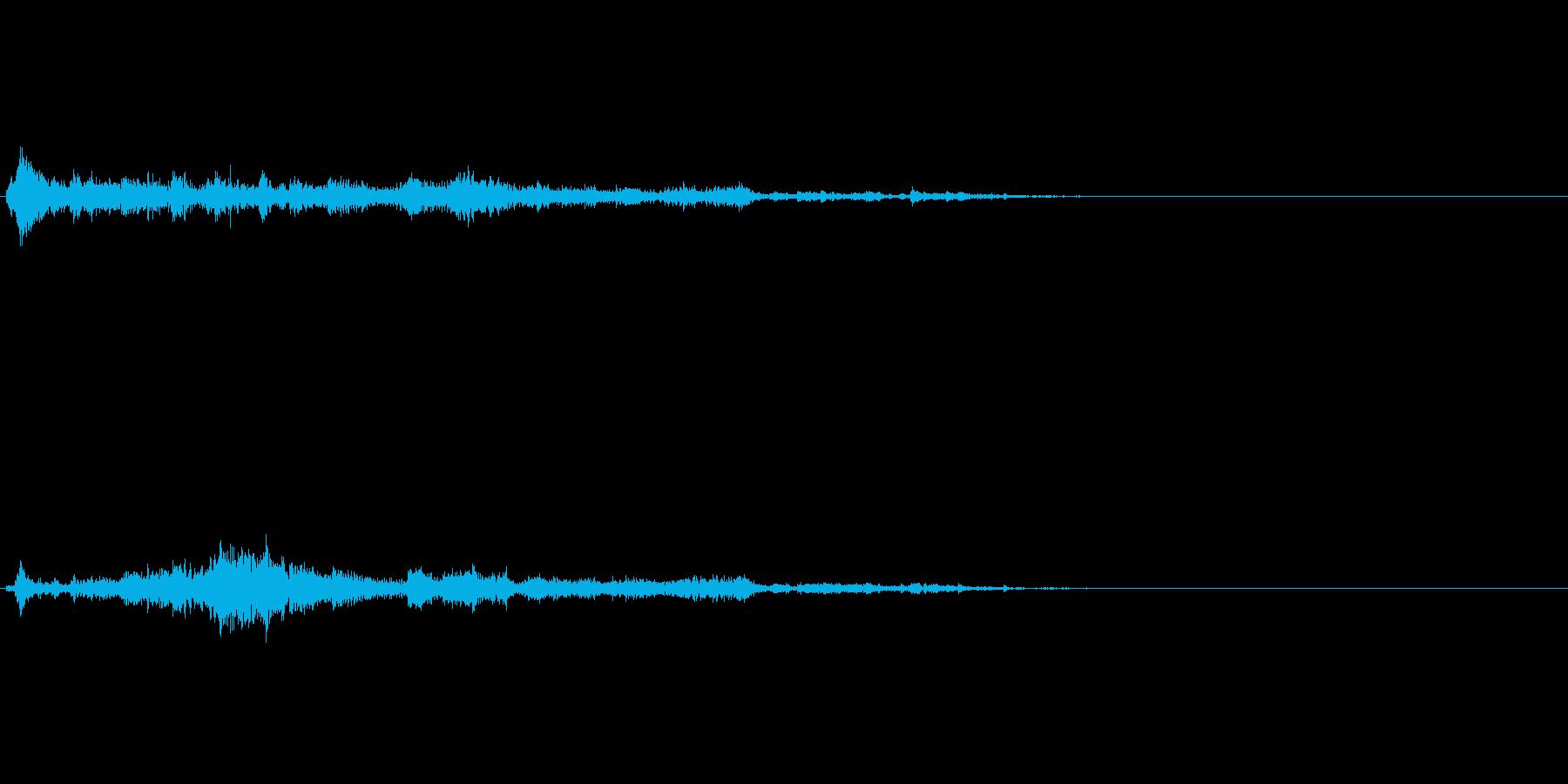 ワープや何か召還した時用効果音の再生済みの波形