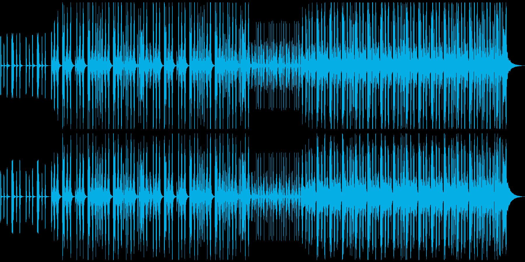 【メロディ抜き】コミカルで可愛い雰囲気のの再生済みの波形
