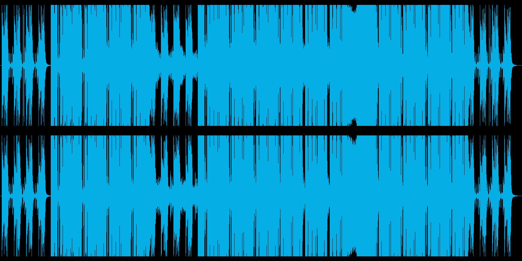 さわやかな朝に似合うポップEDMの再生済みの波形