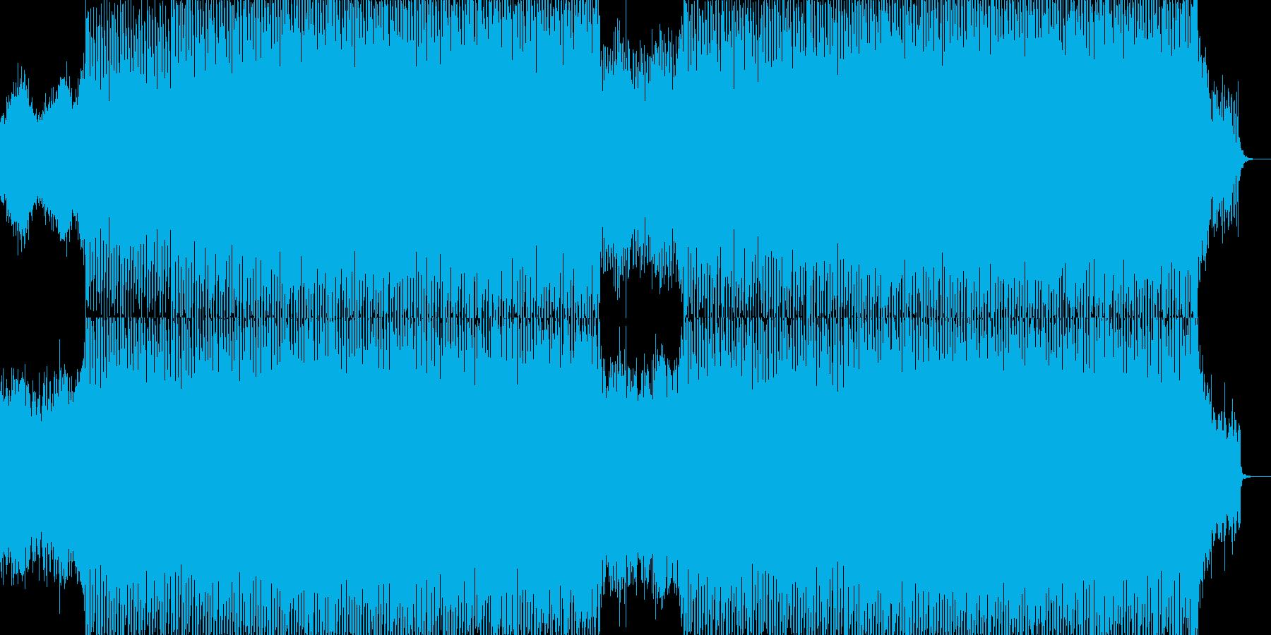 EDMポップで明るいクラブ系-59の再生済みの波形
