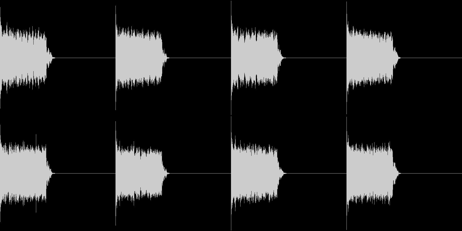 電話 呼び出し音 ベル 一般固定電話の未再生の波形