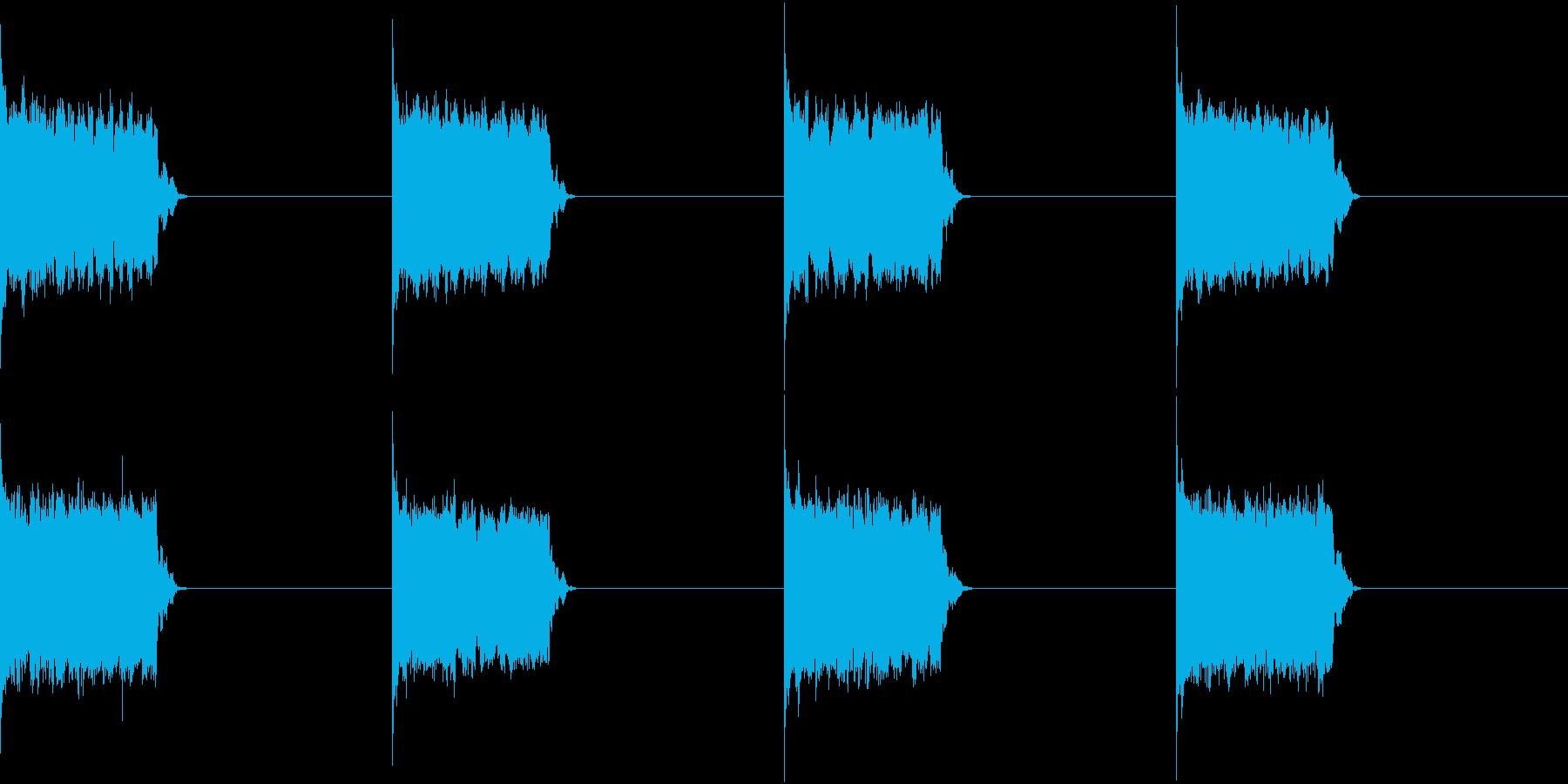 電話 呼び出し音 ベル 一般固定電話の再生済みの波形