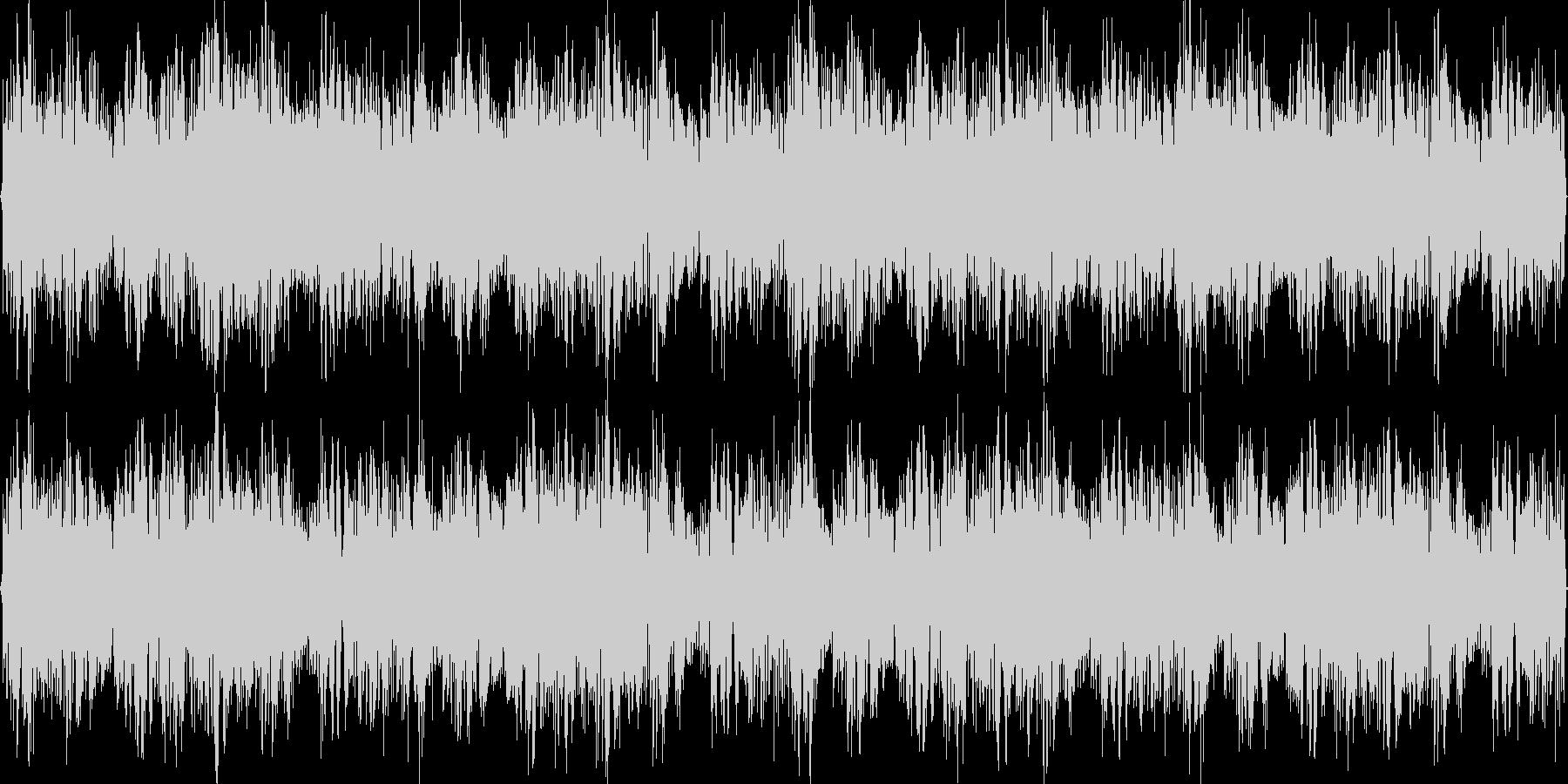 クラブ向けのループトランスBGMの未再生の波形