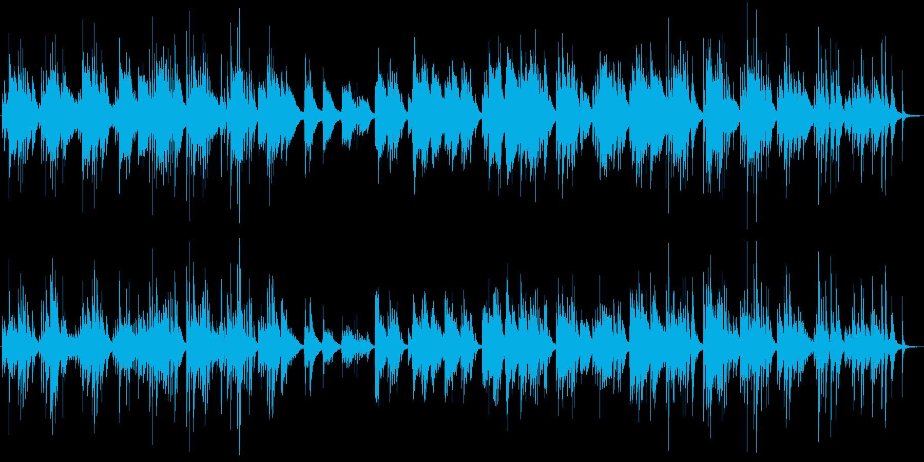 ピアノソロ ダニーボーイ 童謡 癒し系の再生済みの波形
