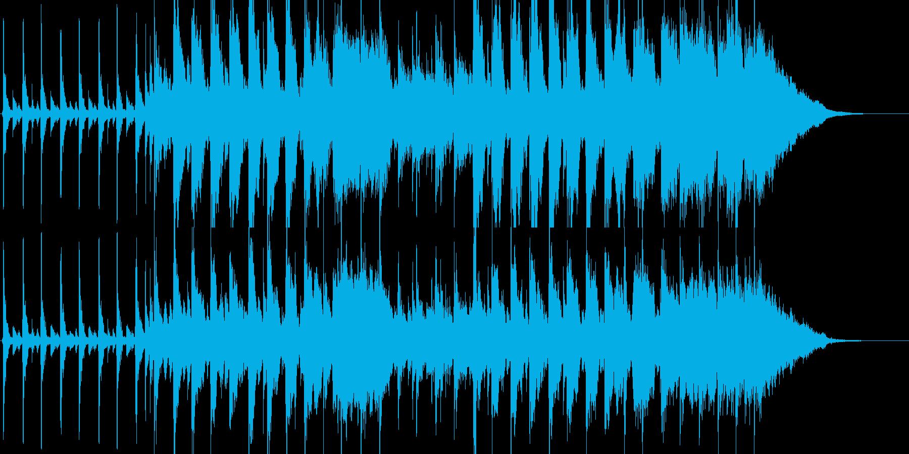 元気 マーチ キッズ 動物 ジングル の再生済みの波形
