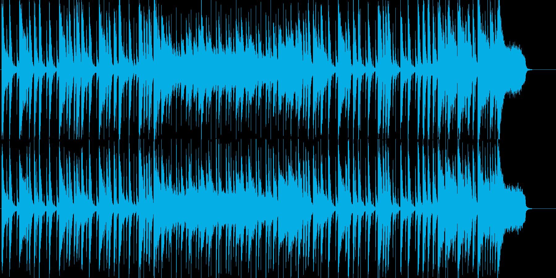 オープニングにぴったりのいきいきポップスの再生済みの波形
