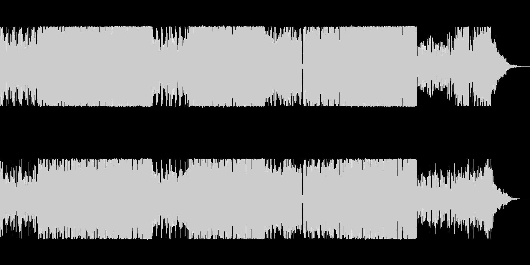ケルト楽器を使ったピアノ伴奏の楽曲の未再生の波形