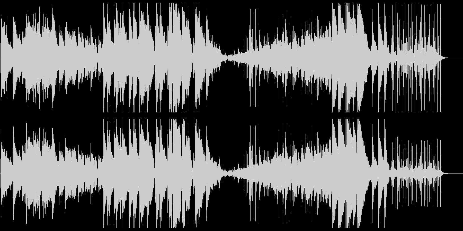 幻想的なギターサウンドの未再生の波形