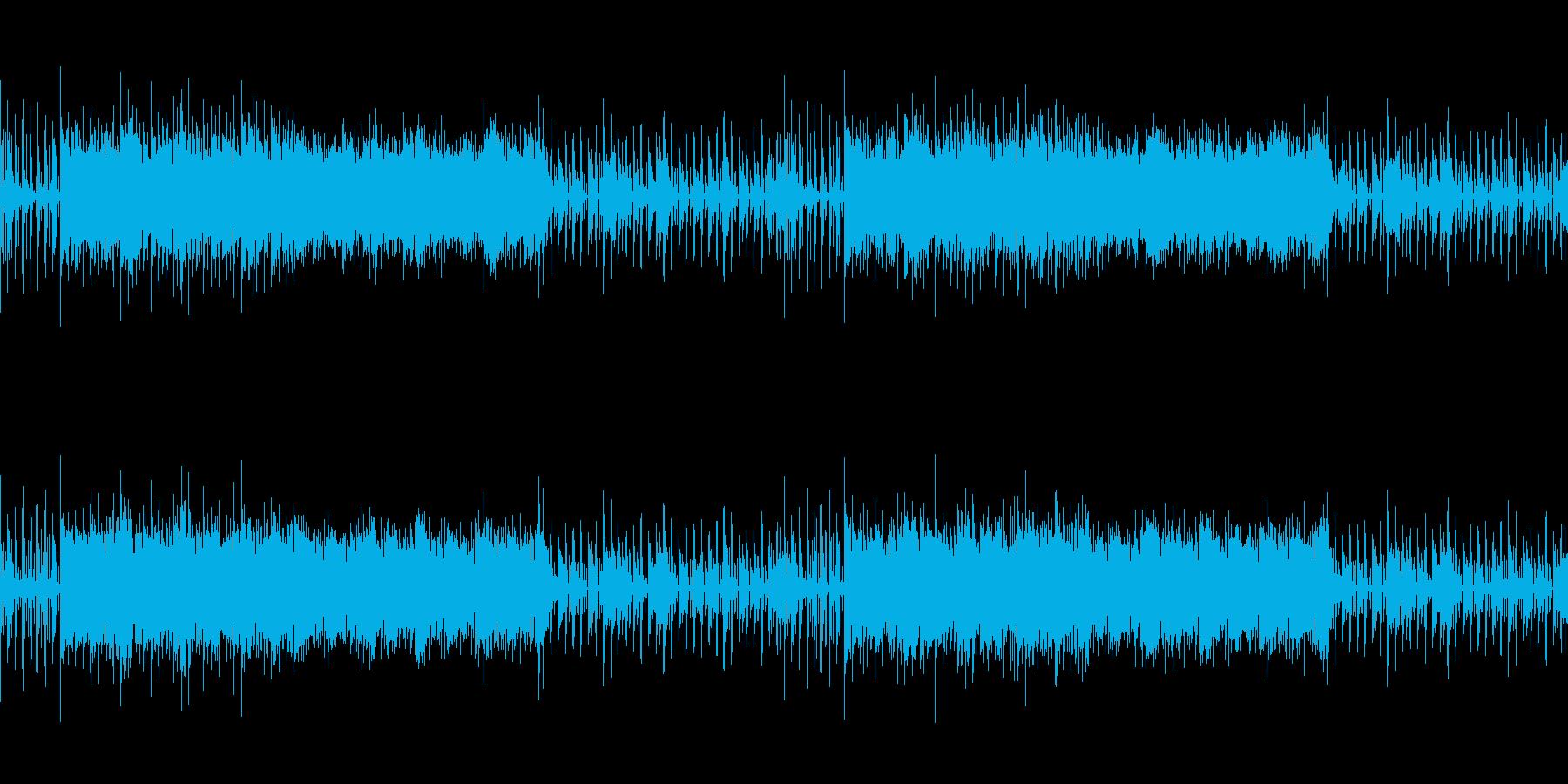 ニュース映像トピックス、ゲーム、ループ可の再生済みの波形