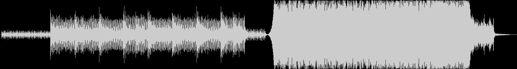 ストリングス、ブラス、ピアノ、E.Gの未再生の波形