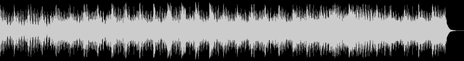 ハリウッド風のオーケストラ音楽の未再生の波形