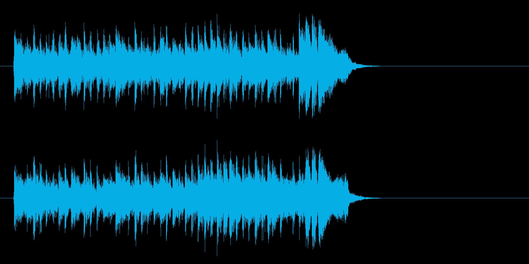希望に満ちたポップス(イントロ)の再生済みの波形