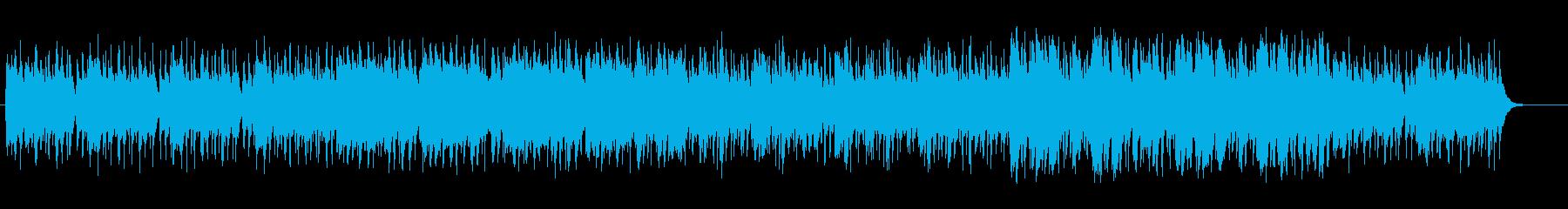 緊張が漂う激しいテクノの再生済みの波形