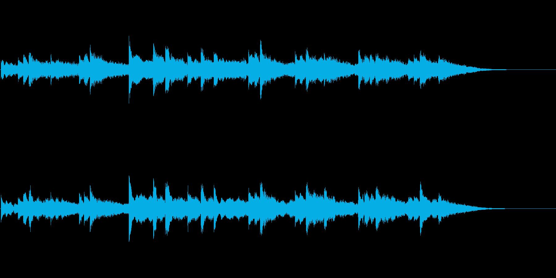 優しく穏やかなアンビ系サウンドの再生済みの波形