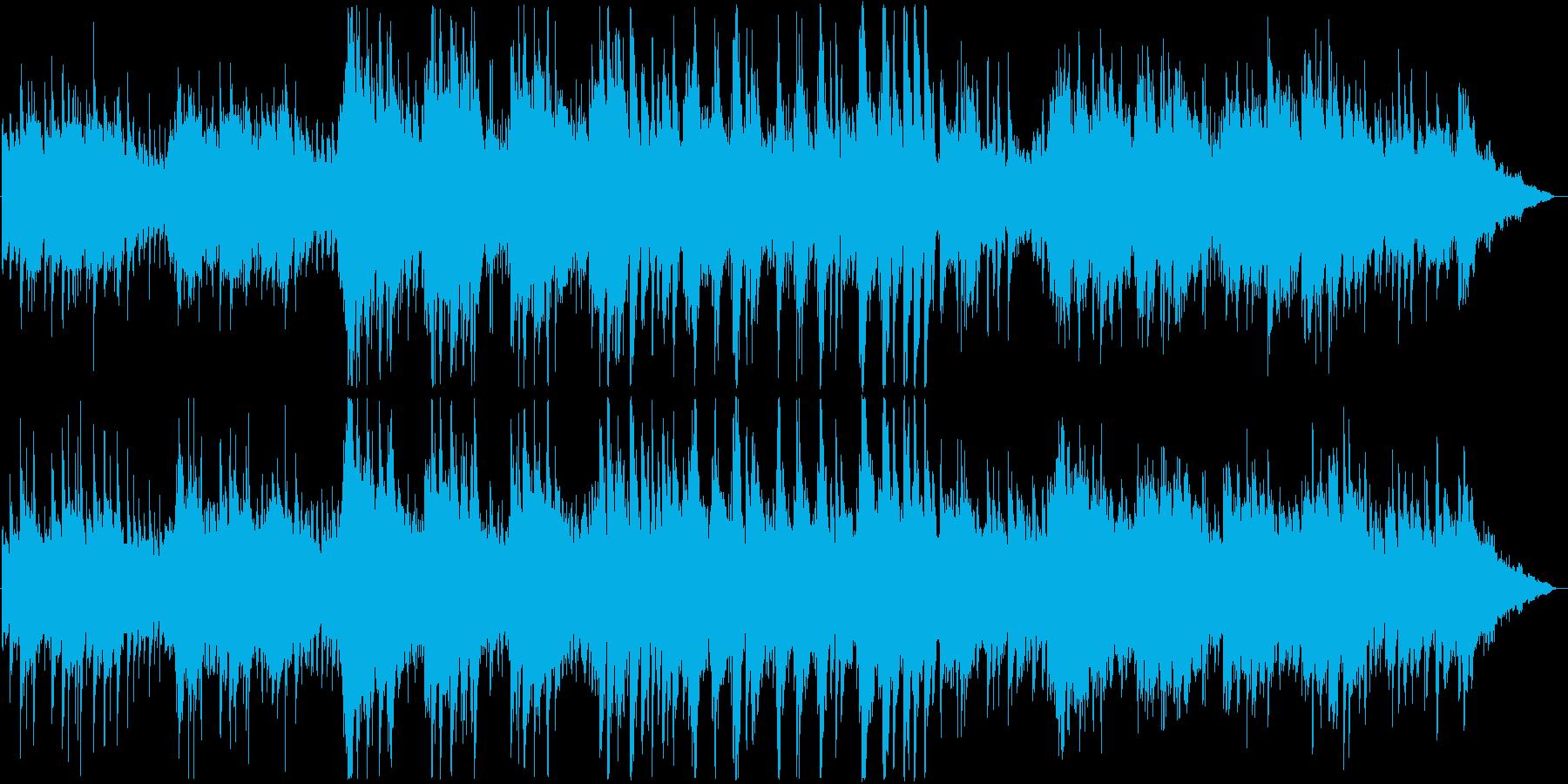 心安らぐアコースティックギターのバラードの再生済みの波形