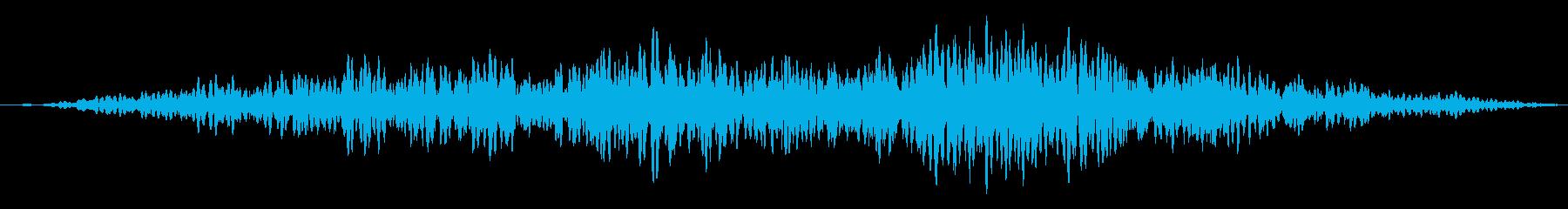 ホラー/恐怖の演出や場面転換に最適!02の再生済みの波形