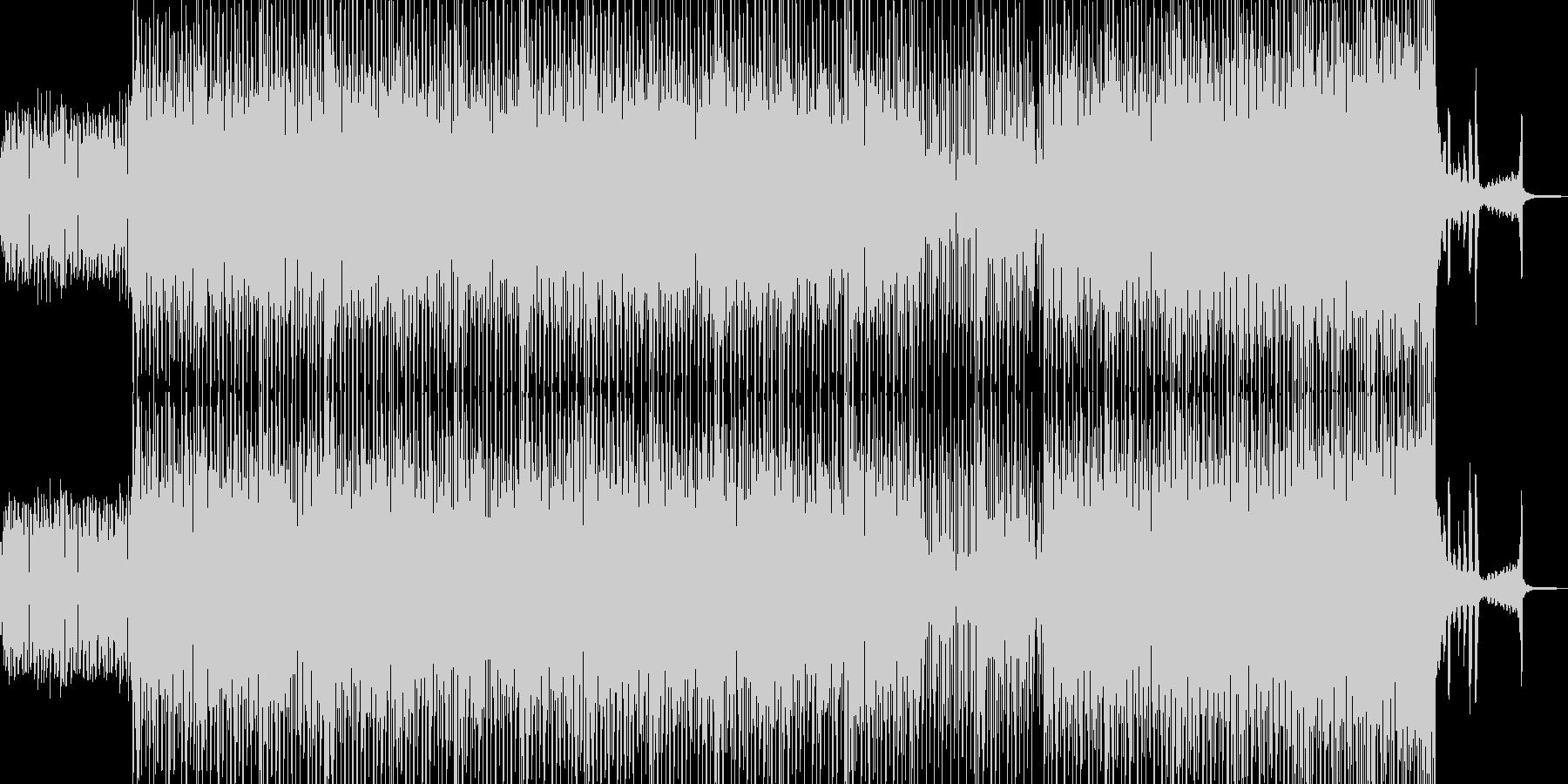 マダムチックなカントリーテクノの未再生の波形