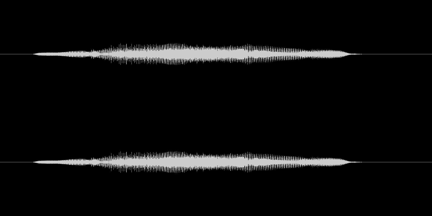 ニャー_猫声-12の未再生の波形