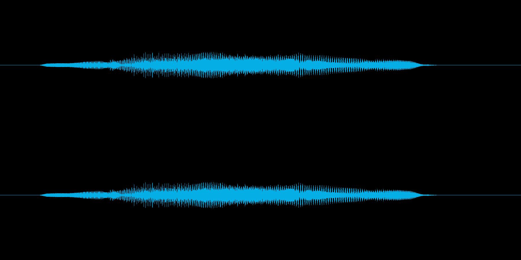 ニャー_猫声-12の再生済みの波形