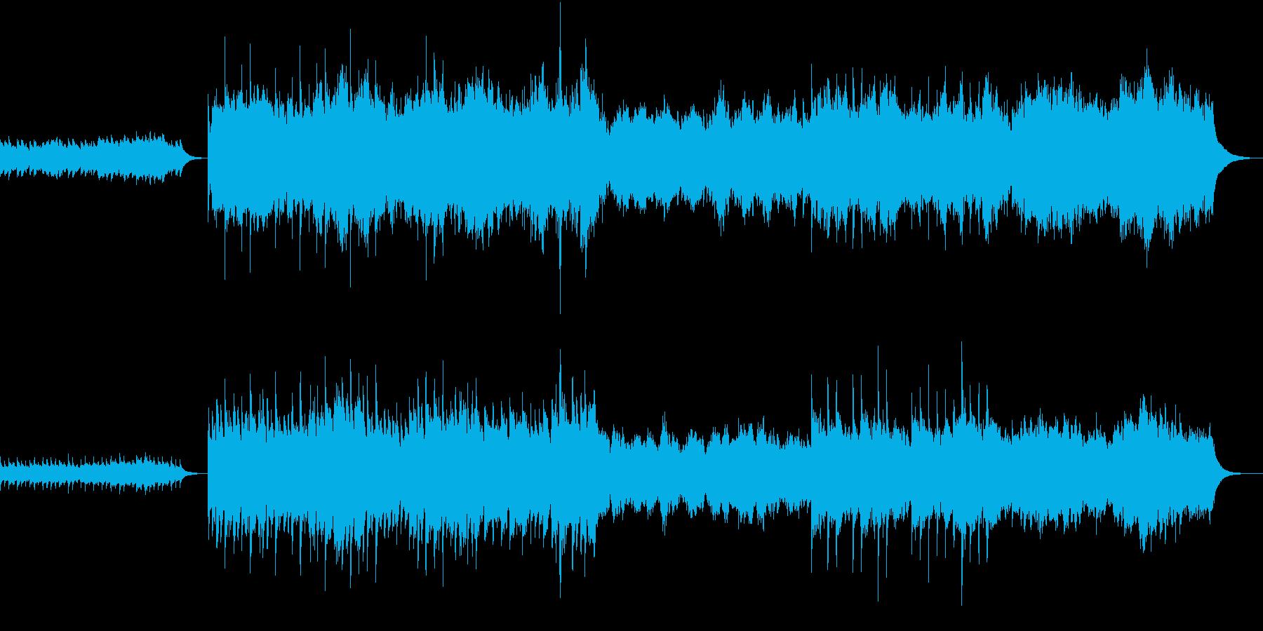 ダークファンタジーのような悲しい曲の再生済みの波形