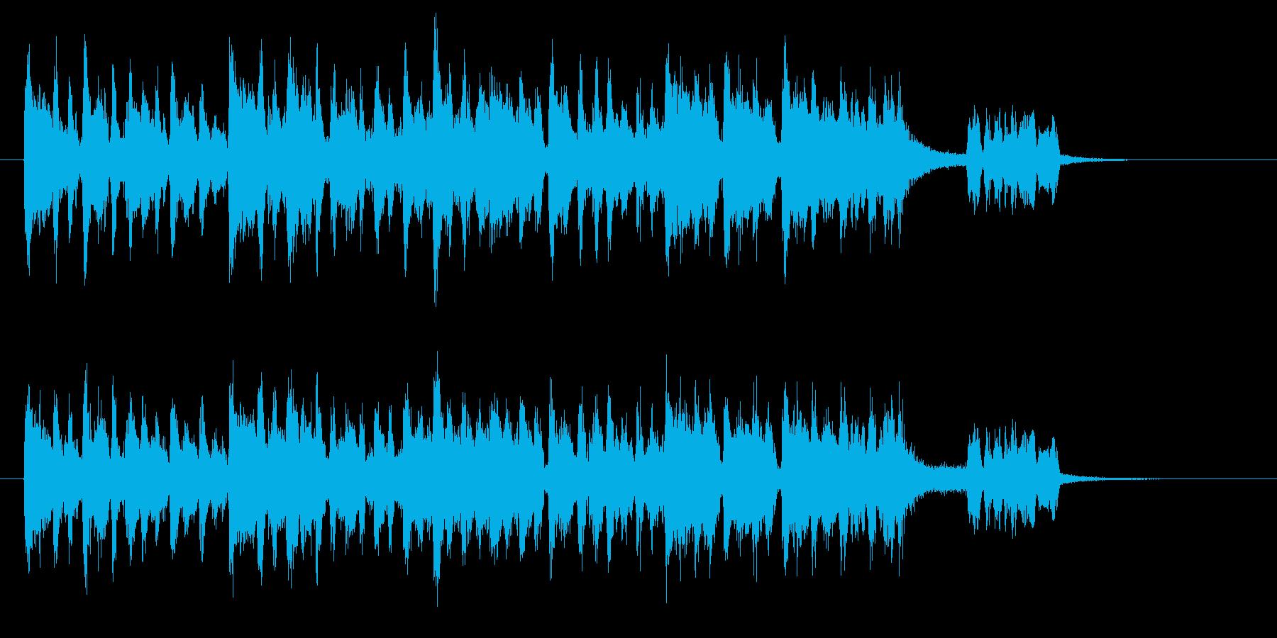 ポルカにのせて動物たちが鳴いていますの再生済みの波形