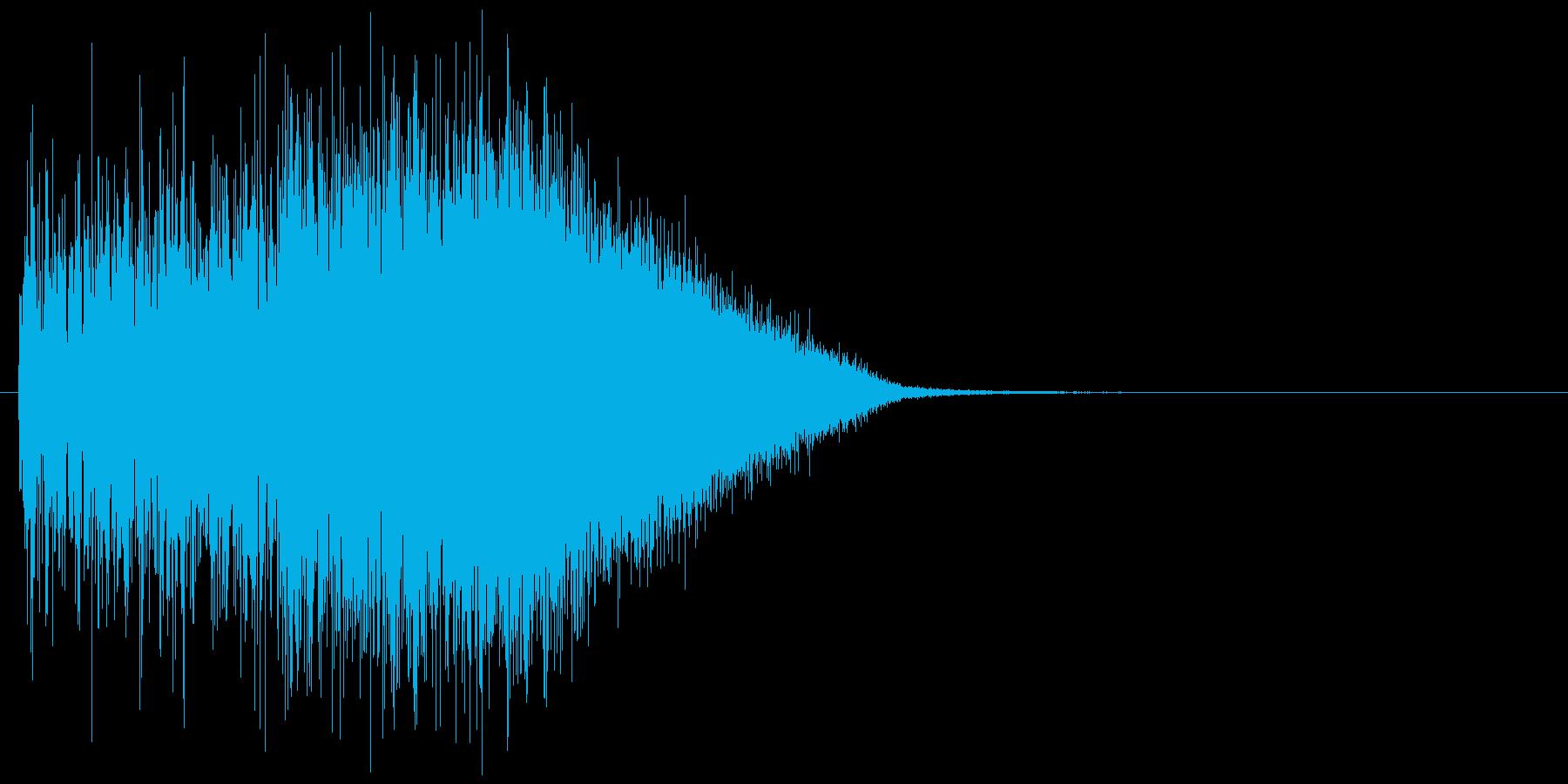 【効果音】フーシュ_上昇の再生済みの波形