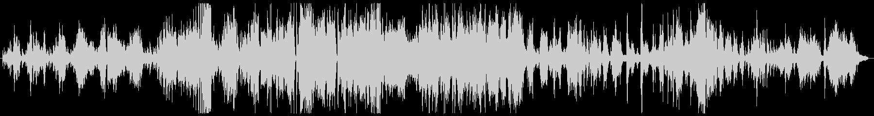 生演奏によるジャズのピアノ曲の未再生の波形