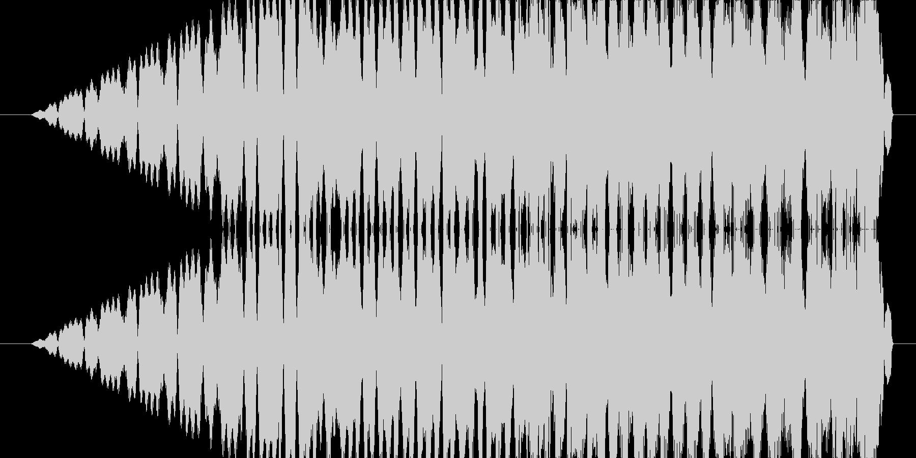 ピューンの未再生の波形