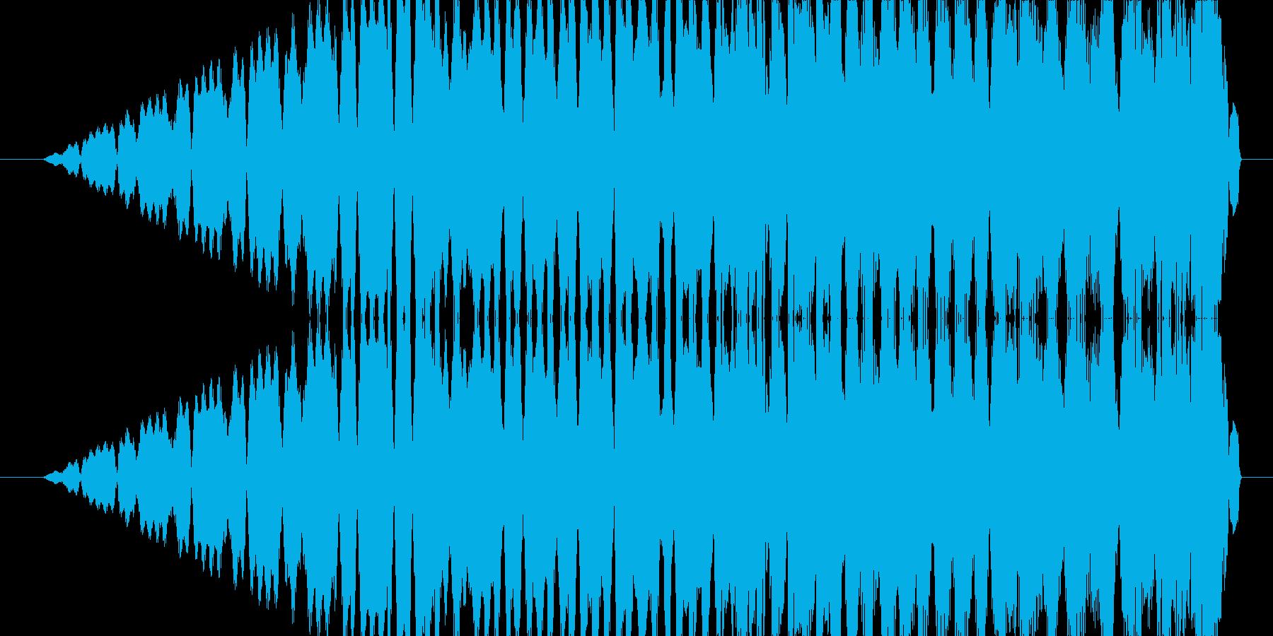 ピューンの再生済みの波形