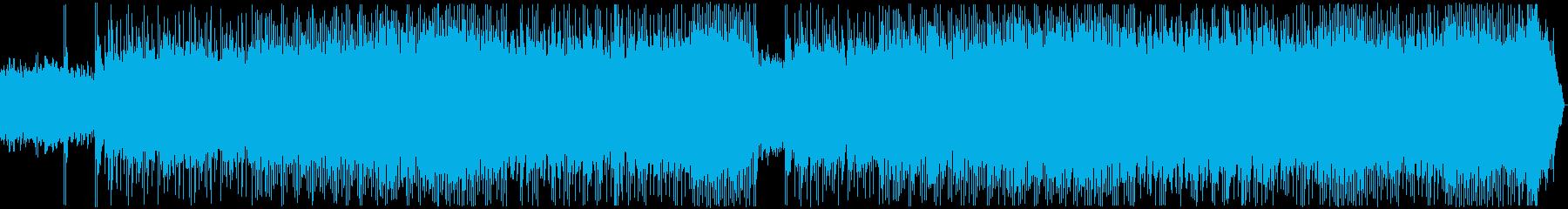 メタル戦闘曲 バトルフィールド ロング版の再生済みの波形