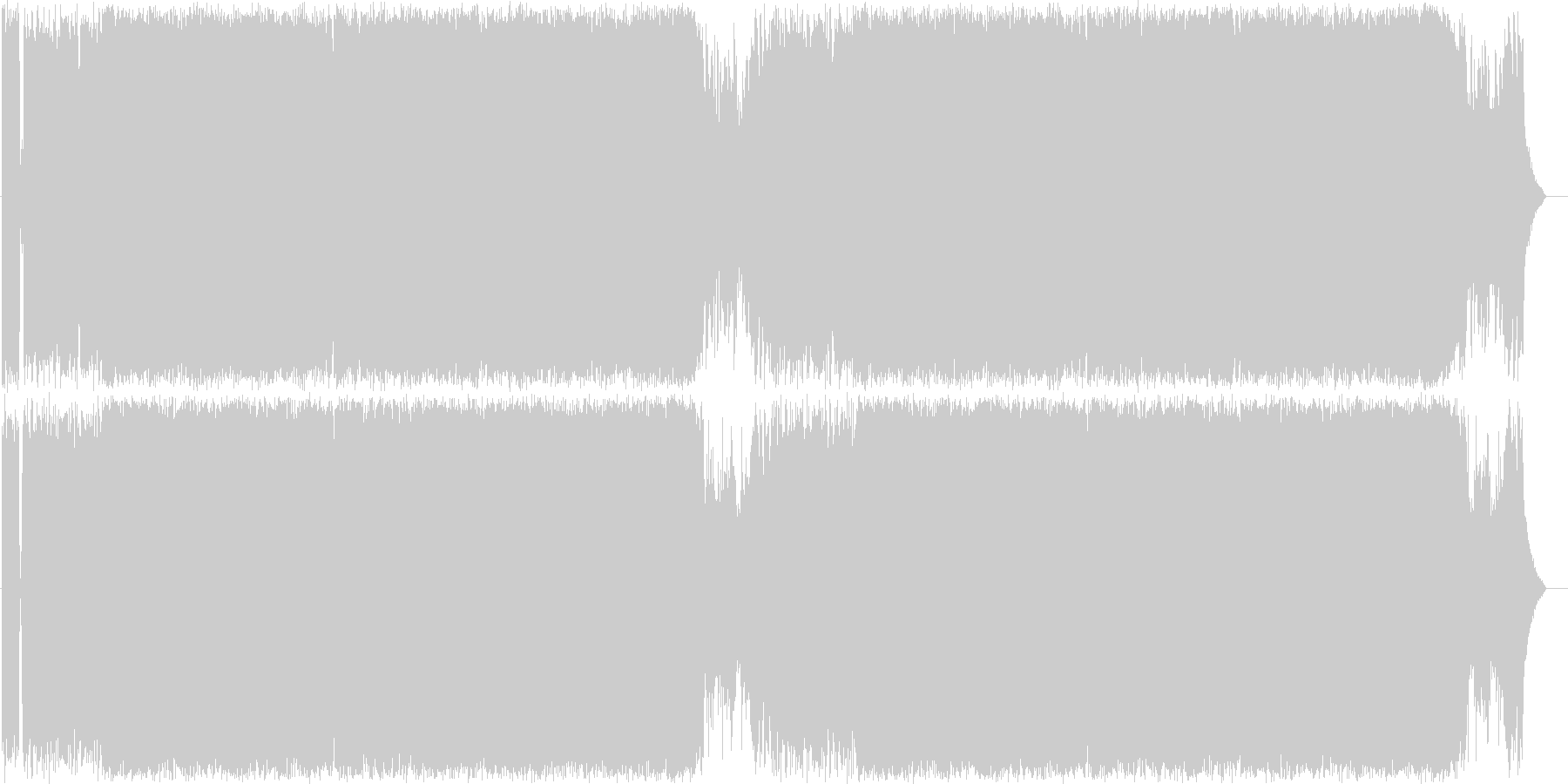 バトル風 ヘビーメタル01の未再生の波形