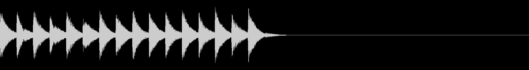 FX・SE/着信音/コール/アラーム/1の未再生の波形