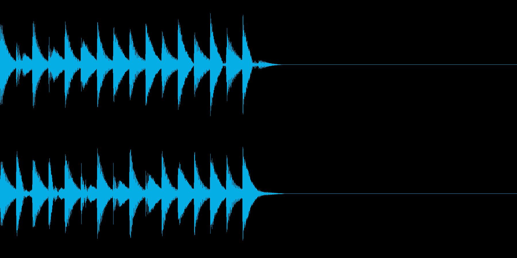 FX・SE/着信音/コール/アラーム/1の再生済みの波形