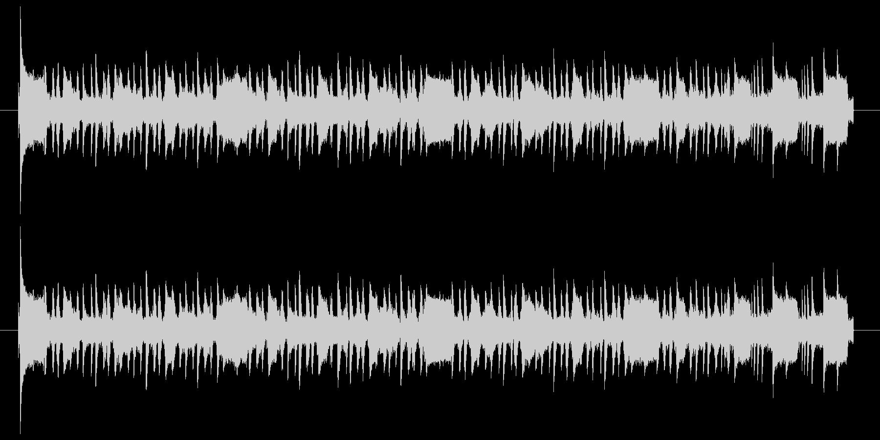 スタイリッシュなアコギのジングル2の未再生の波形
