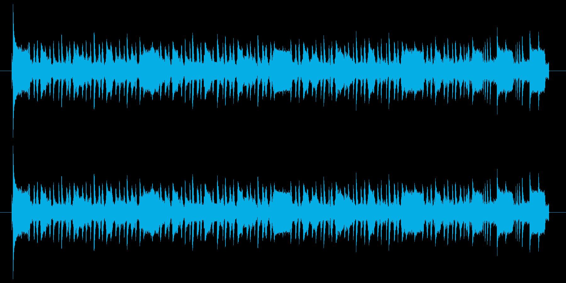 スタイリッシュなアコギのジングル2の再生済みの波形