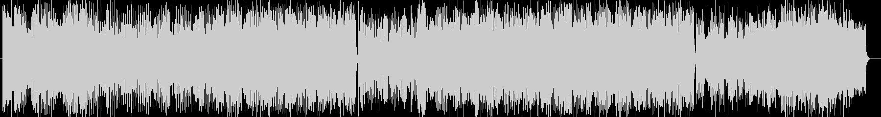 華やかなイントロのシンフォニックな曲の未再生の波形