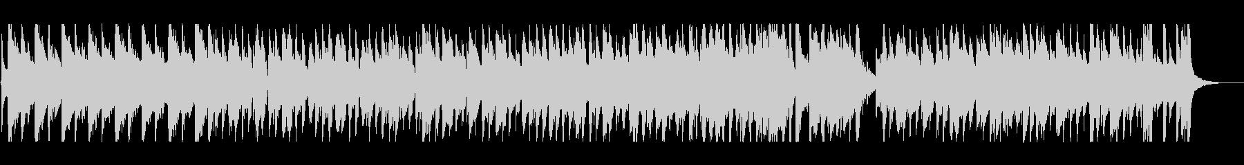 ゆったりリラックスできるクリスマスBGMの未再生の波形
