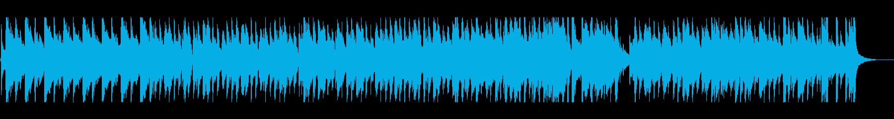 ゆったりリラックスできるクリスマスBGMの再生済みの波形