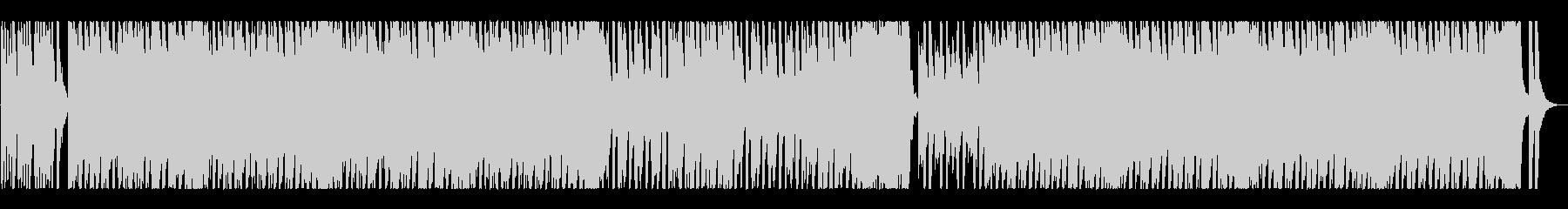 コミカルで怪しげなオーケストラワルツの未再生の波形