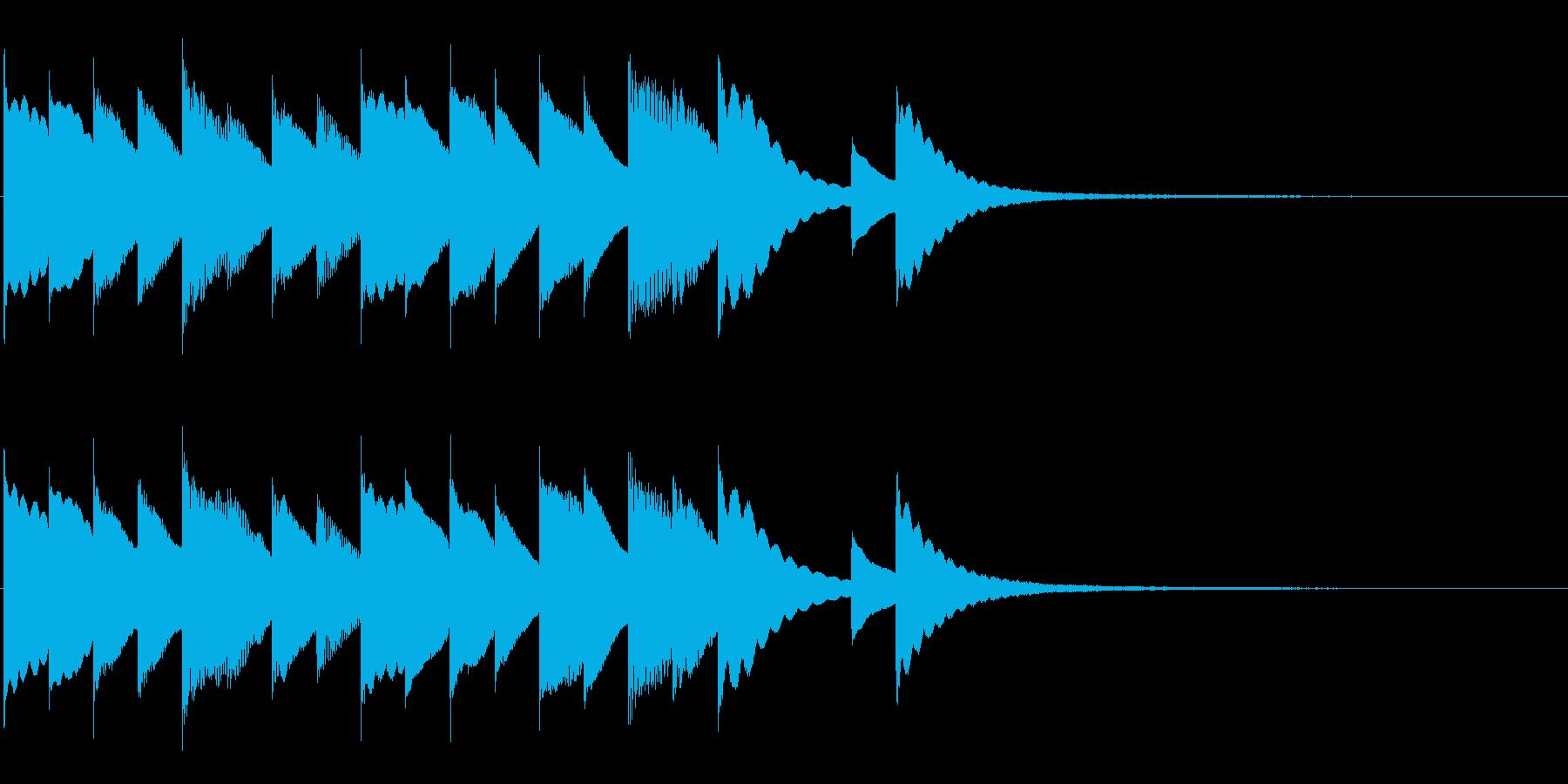 ファンタジーRPGなどでの就寝BGMを…の再生済みの波形