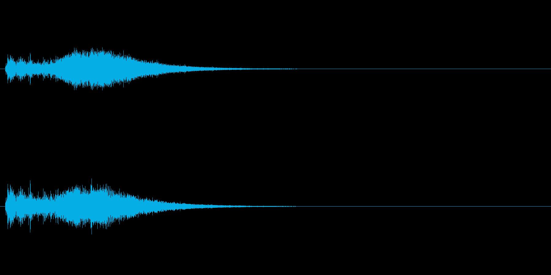 【シュイン】出現 ワープ 発動 瞬間移動の再生済みの波形