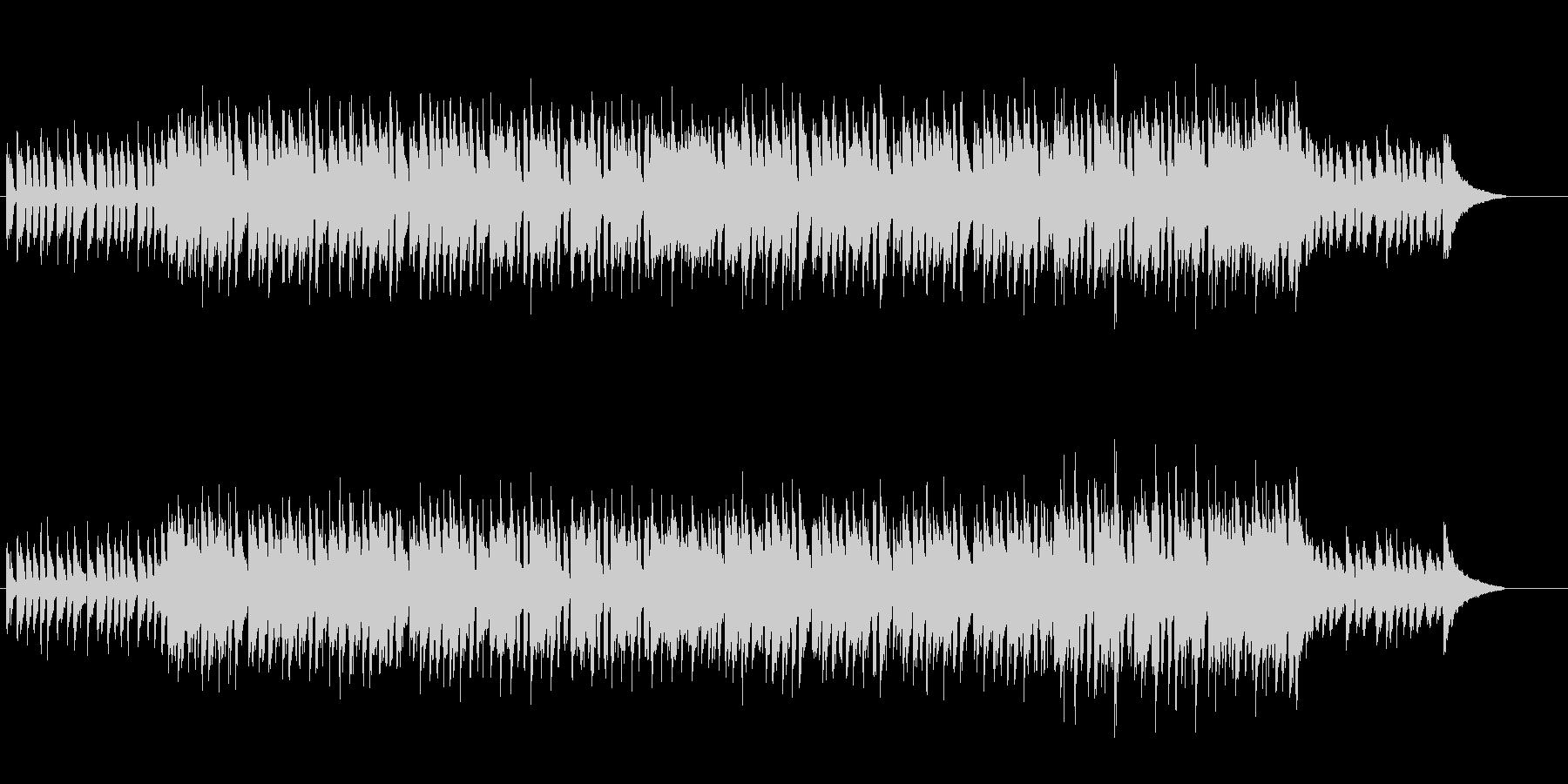 ソフトな音色のスイート・ポップの未再生の波形