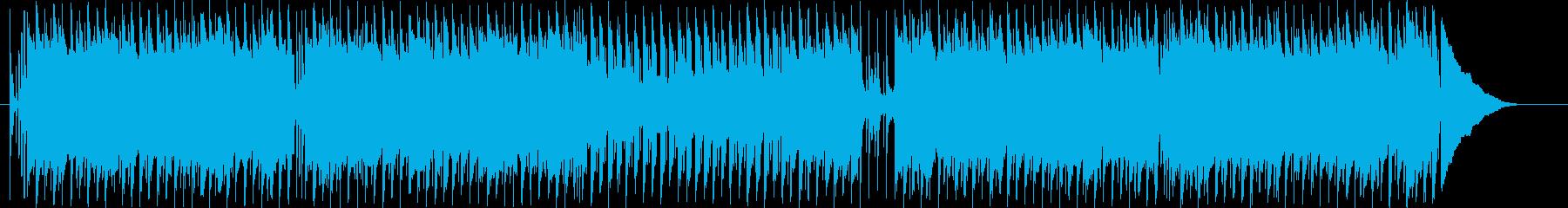 子供の日常をイメージしたほのぼのポップスの再生済みの波形